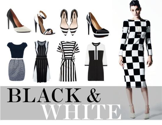 crno-bijela kombinacija