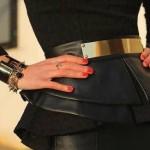 Zimski styling kožne suknje ima bezbroj mogućnosti