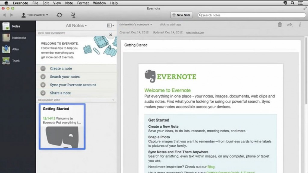 Time Management04_Evernote