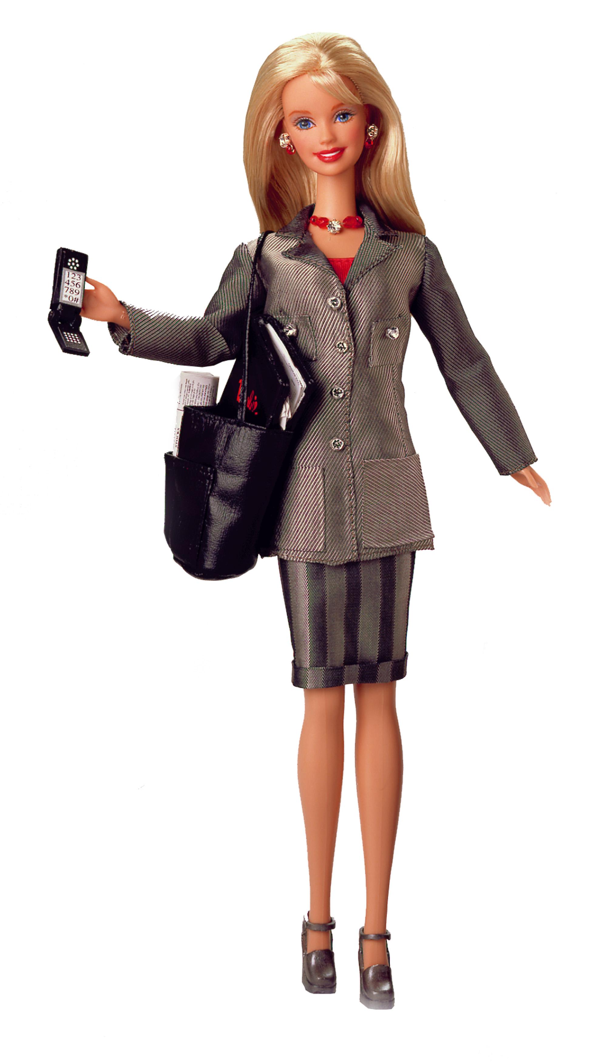 BARBIE претерпела преобразование, точнее сменила свою карьеру, на этот раз на...