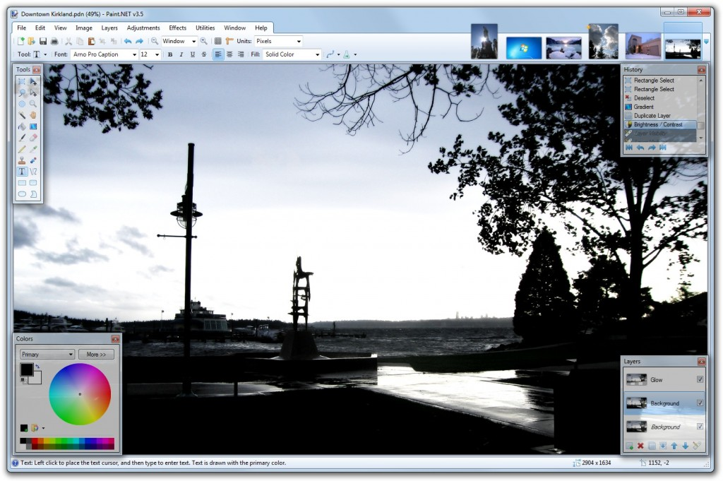 editora za fotografije - paintnet