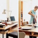 Stol koji je radni, ali ujedno i jedini stol u kući? Evo rješenja!