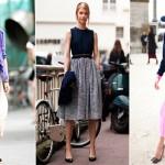 Široka suknja – idealna za sve urede