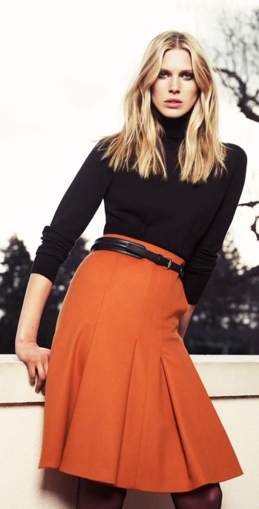 široka suknja