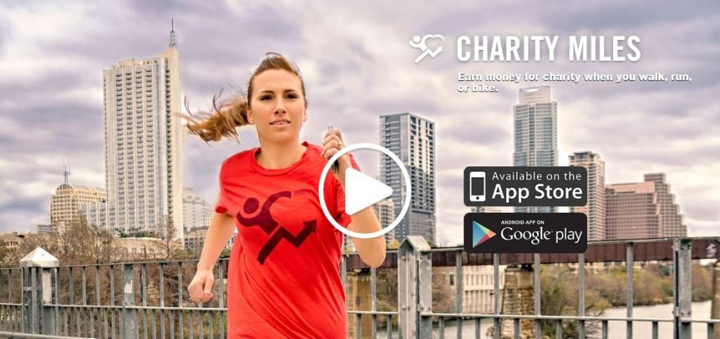 aplikacije charity miles
