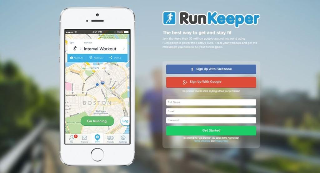 aplikacije runkeeper