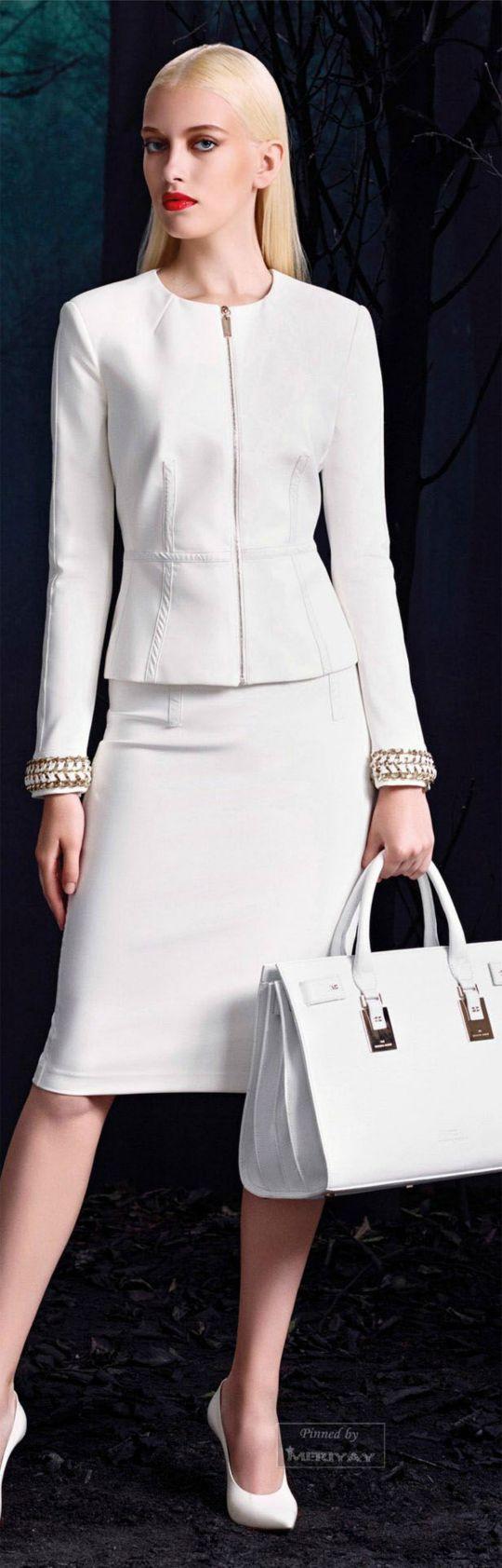 bijelo odijelo zimi