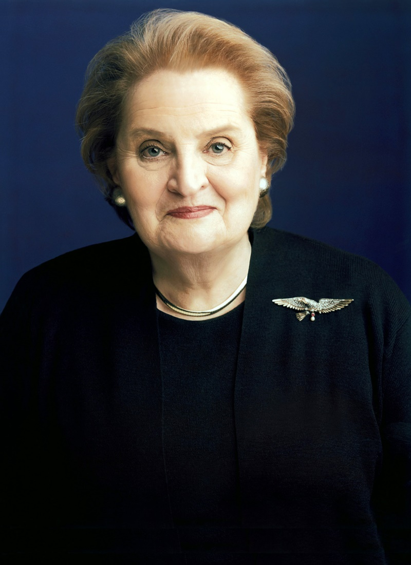 žene_izbjeglice_Madeleine_Albright