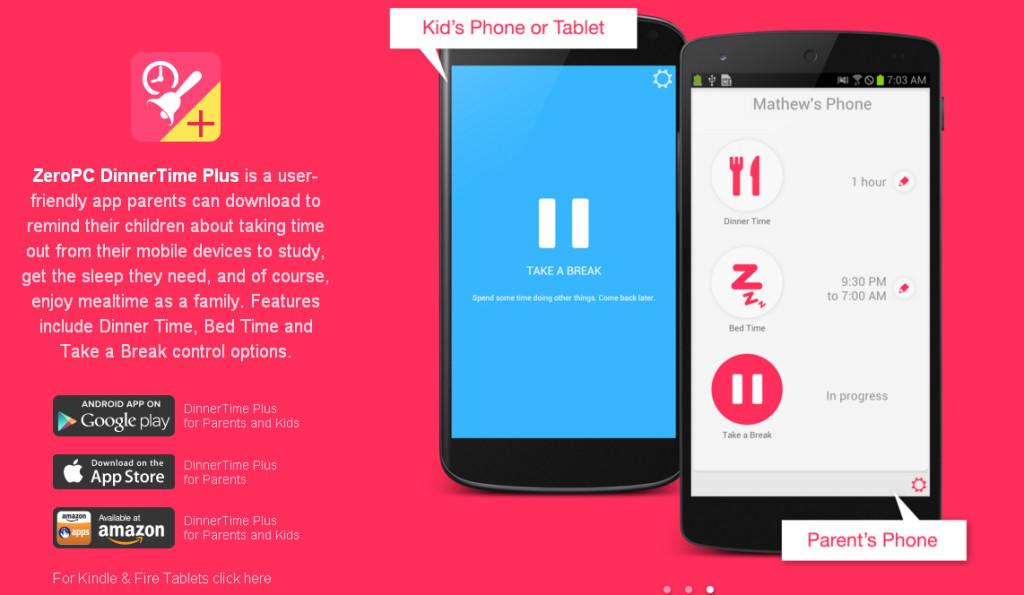 aplikacije za roditelje dinner time