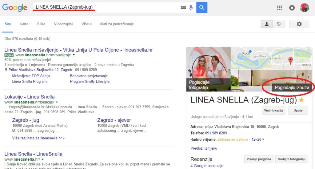 Milijuni ljudi svakoga dana na Googleu pretražuju tvrtke kao što je vaša.