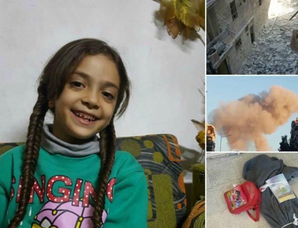 djevojčica iz Alepa