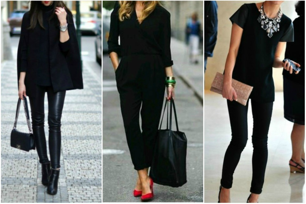 nositi crno na crno