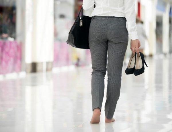 odbijanje nošenja cipela na petu