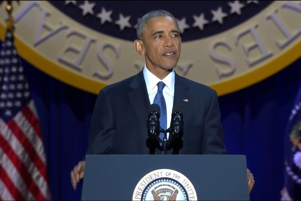 Oproštajni govor Baracka Obame
