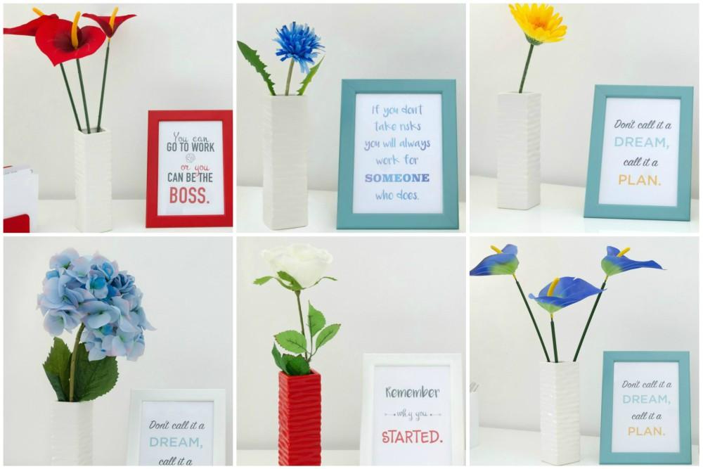 cvijeće i svijeće