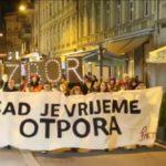 """Održan Noćni marš na Dan žena s važnom porukom """"Sad je vrijeme otpora"""""""