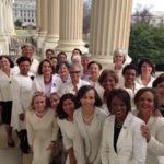 Demokratkinje u bijelom poslale Trumpu poruku kako će se boriti za prava žena