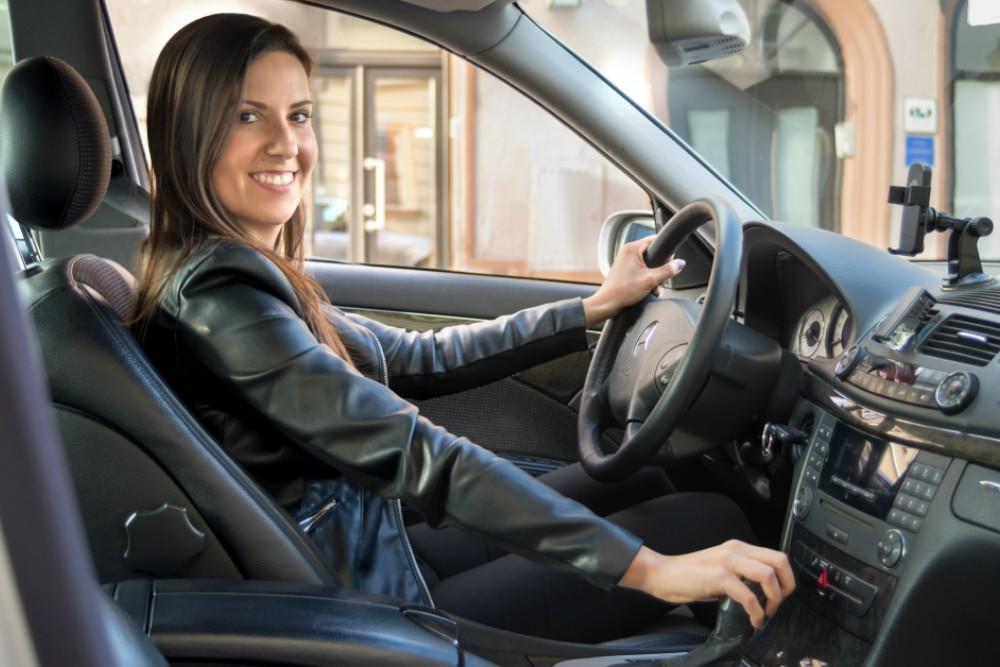 vozačica Ubera