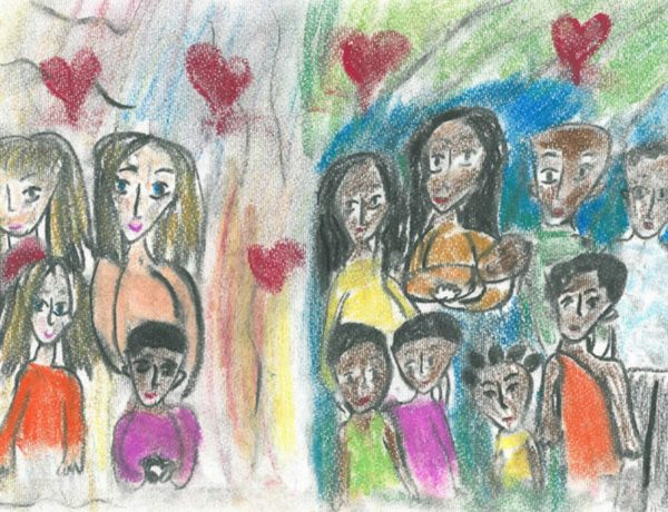 crtež posvojiteljskih obitelji