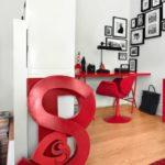 Savršena ideja: Ispunite vaš ured crvenim detaljima!