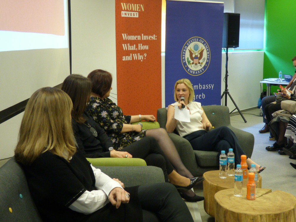 women invest panel