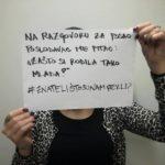 Akcija koja osvještava javnost o kršenju ženskih prava