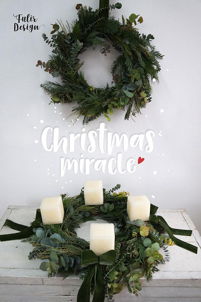 božićni aranžmani