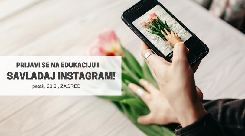 Zagreb: Savladaj Instagram jednodnevnom radionicom