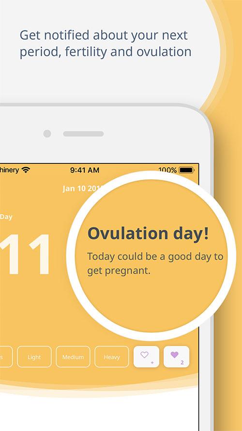 aplikacija za praćenje menstrualnog ciklusa