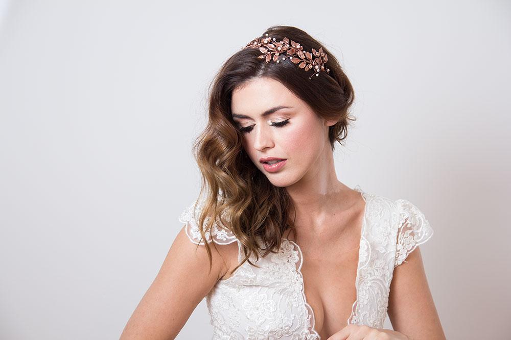 vjenčani ukras za kosu