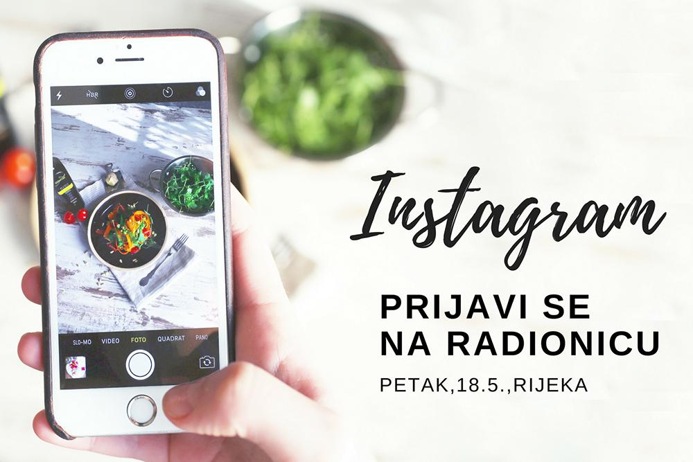 Instagram radionica Rijeka 18.5.2018: Kako pravilno koristiti jednu od najbrže rastućih društvenih mreža