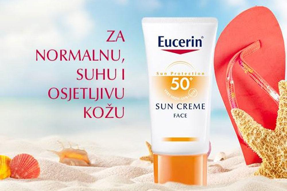 krema za sunčanje za lice