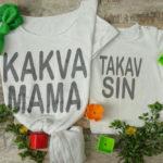 Neodoljiva ljetna kolekcija matching majica za mame i sinove