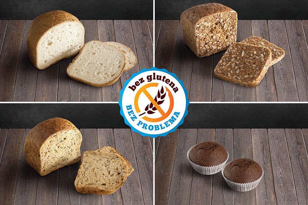 bezglutenski pekarski proizvodi