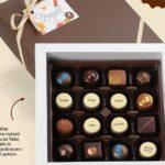 Božićni poklon s vašim logotipom, porukom ili bojama u okusima Bagolo čokolada