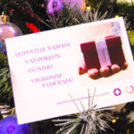 Poklon bon kao božićna razglednica puna zdravlja i vitalnosti