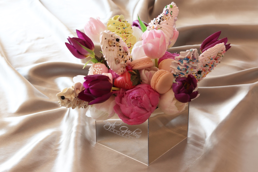 cvijeće u kutiji