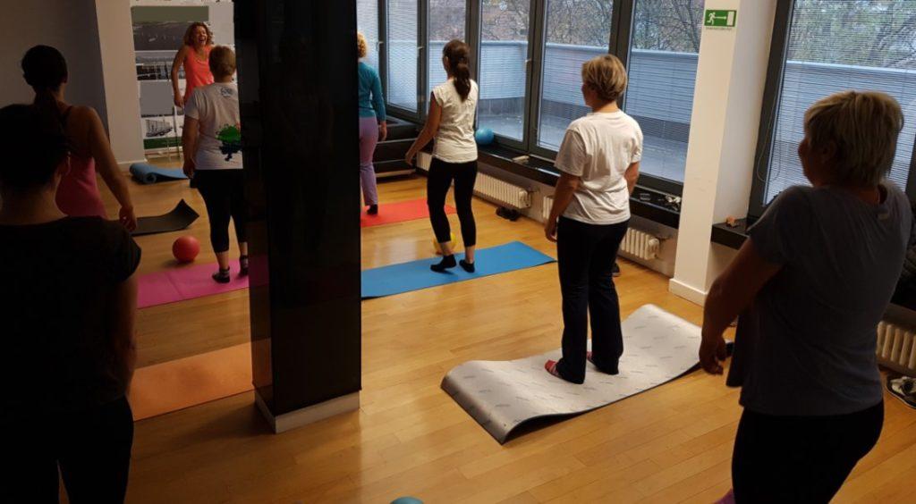 Pilates u uredu