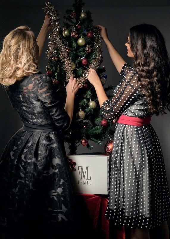 novogodišnje haljine