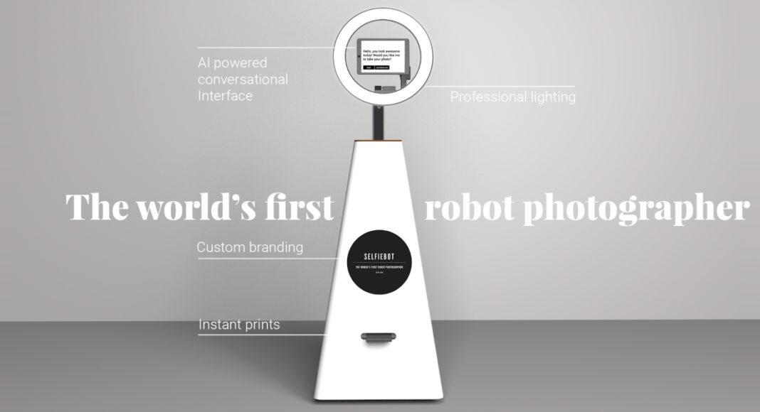 robot za selfie