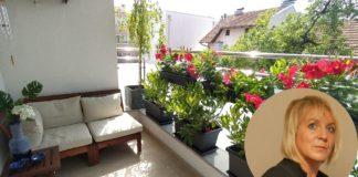 vrt na balkonu