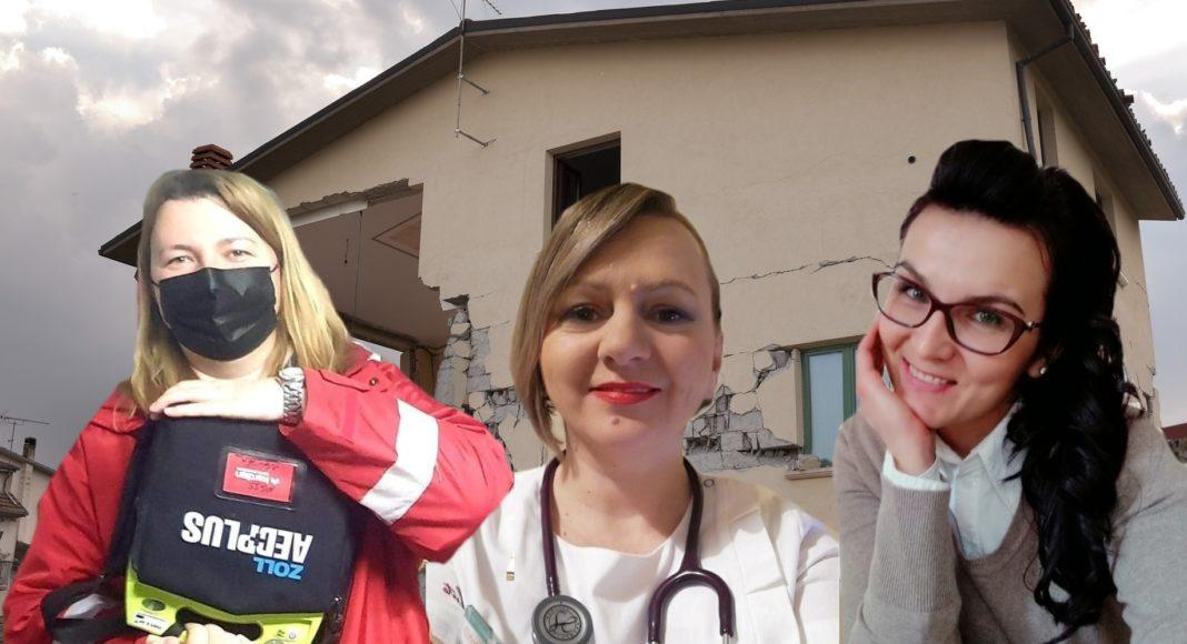 liječnice u potresu