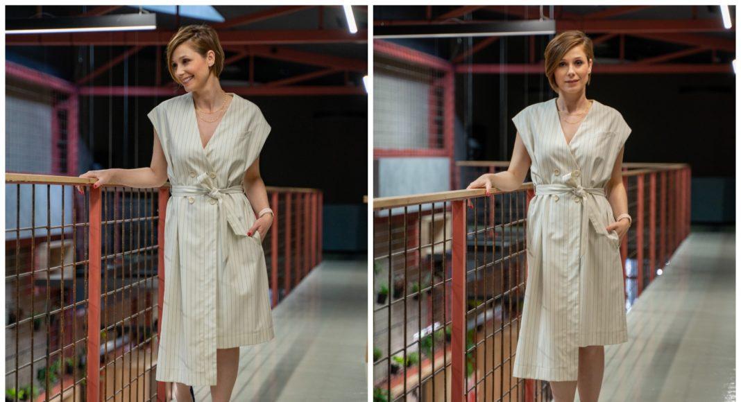 Haljina asimetričnog kroja