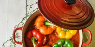 posne punjene paprike
